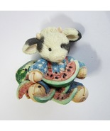 1994 Enesco Mary's  Moo Moos Udderly Refreshing Cow by Mary Rhyner No. 1... - $11.99