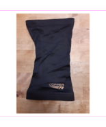 "Copper Fit ""Live Limitless"" Knee Support Sleeve in Black, Size Medium - $0.98"