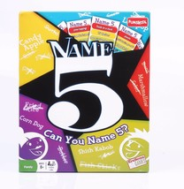 Funskool Name 5 Game 2 or More Players 2 Teams Indoor Game Age 8+ - $32.09