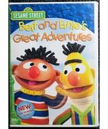 Sesame Street: Bert and Ernie's Great Adventures (DVD)  - $2.75
