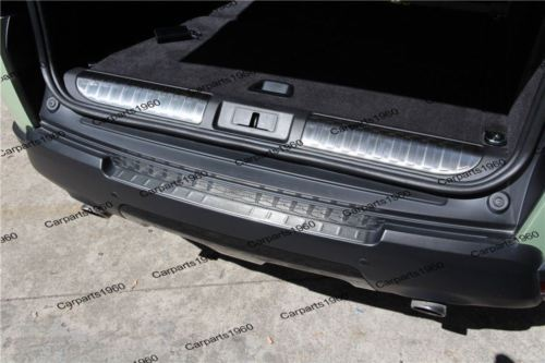 Inner Rear bumper sill plate cover Guard for Land Rover Range Rover Sport 14-16
