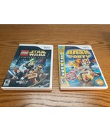 Lot 2 Games, LEGO Star Wars Complete Saga & Bash Party Wii - $11.83