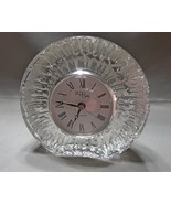 Mikasa Studio Nova Crystal Clock ~ Made in German~ Quartz Movement~New ... - $14.90
