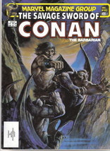 The Savage Sword of Conan Magazine #83, Marvel Comics 1982 FINE+ - $3.99