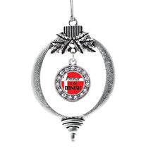 Inspired Silver Proud to be Danish Circle Holiday Ornament - $14.69