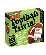 2019 Year of Football Trivia Page-A-Day Calendar - $9.45