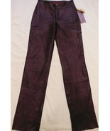 NWT Wilsons Leather  Venus Williams Collection Pants Purple Size 4 - $79.19