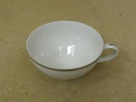 Nasco Parisienne Vintage Tea Cup Japan Platinum Rim Fine China - $10.79