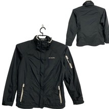 COLUMBIA Interchange Omni-tech Waterproof Jacket Black Women's Size M Me... - $27.72
