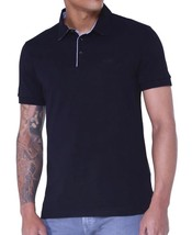 HUGO BOSS MEN'S C-FIRENZE COTTON POLO SHIRT T-SHIRT BLACK 50314833 SIZE L