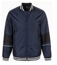 ID Ideology Men's Varsity Bomber Jacket, Night Sky Blue, 3XL - $63.35