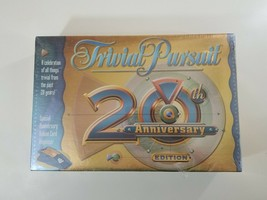 Hasbro Trivial Pursuit 20th Anniversary Edition Trivia Board Game NEW SE... - $23.08
