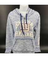 New York Giants Women's Space Dye French Terry Hoodie Size Adult Small -... - $34.99