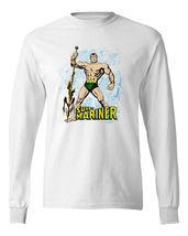 Sub-Mariner T-Shirt Prince Namor retro vintage Comics Long Sleeve Graphic Tee image 1
