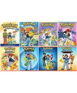 Pokemon Anime TV Series Complete Seasons 1-8 (1 2 3 4 5 6 7 8) NEW DVD SET - $376.15