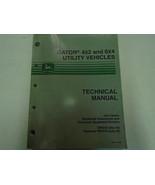 John Deere Gator 4x2 & 6x4 Utilità Veicoli Technica Servizio Manuale di - $296.98