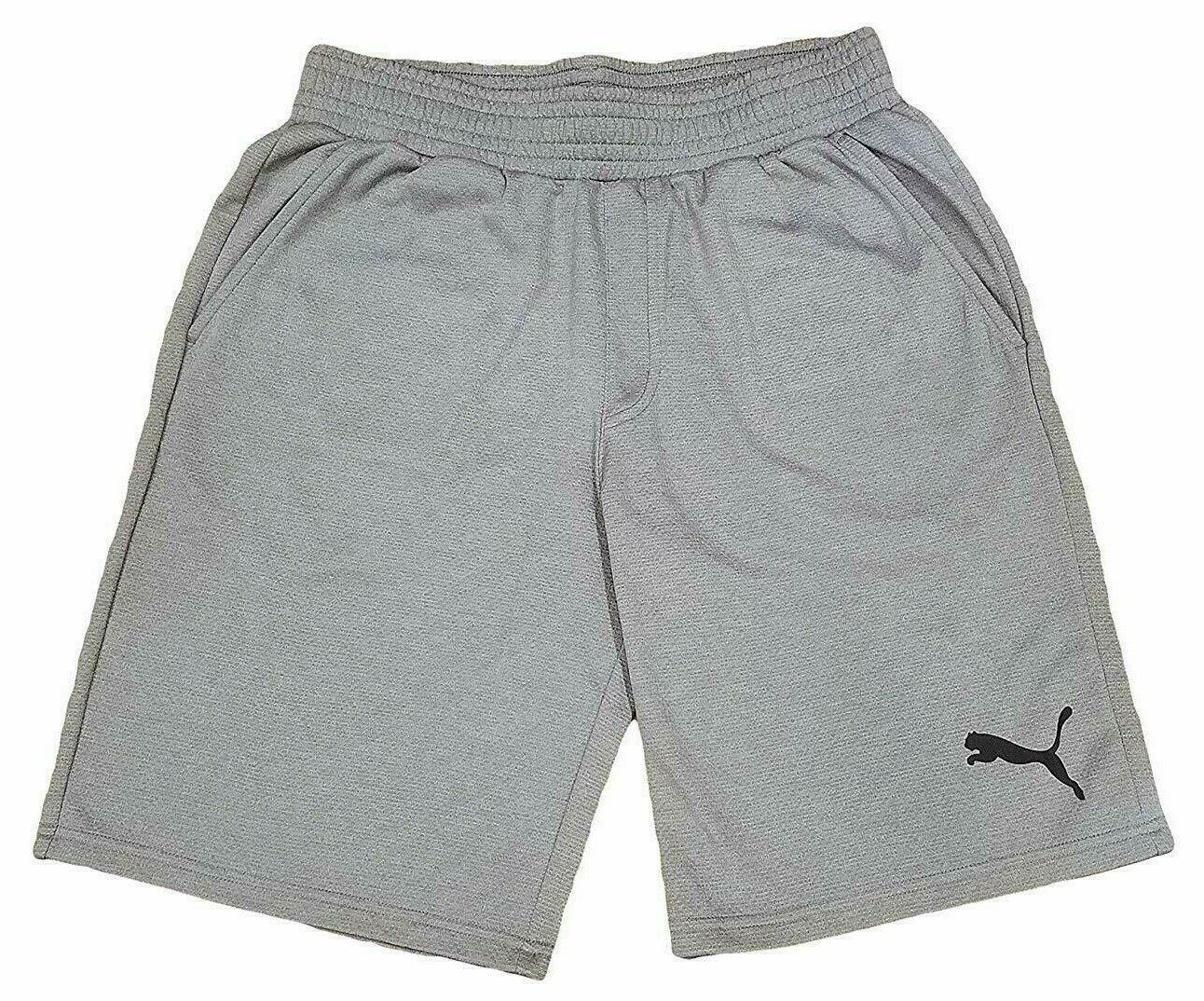 PUMA Energy Men's Shorts 10 inch Medium, Dark Grey or Peacoat Heather TD19342-51