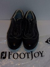 FOOTJOY~LoPro Collection~Black White Leather~Womens Golf Shoes~ SIZE 8M~#97108 - $22.88