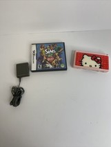 Nintendo DS Lite Pink Hello Kitty With 1 Game and Charger Tested Working - $55.79