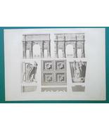 ROME Arch of Septimus Severus & Constantine Facade Details - 1905 d'Espo... - $40.46