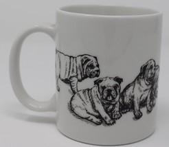 Sharpei Cane/Cuccioli Tazza di Caffè Porcellana Tè Cindy Contadino 1988 - $17.59