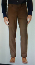 Mens Size 35 x 34 Bluffworks Brown Original Travel Pants Made NYC Wrinkl... - $39.90