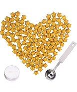 Aokbean Antique Retro Sealing Wax Beads Set All In OneAntique Gold - $8.82