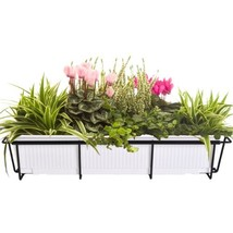 CobraCo 24-Inch to 36-Inch Black Adjustable and Expandable Flower Box Ho... - $36.66