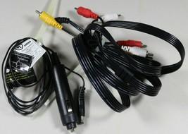 RCA DRC69705E Portable DVD Player Car Auto DC Power Cord & AV Cord - $12.58