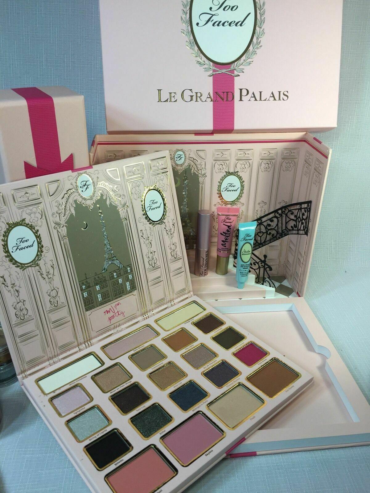 BNIB Too Faced LE Grand Palais Eyeshadow Palette Holiday  w/receipt - $85.49