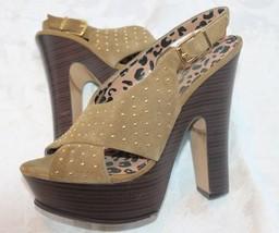 Jessica Simpson Kingston Womens  Suede Platforms HeelsSize 9  39 - $24.75