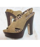 Jessica Simpson Kingston Womens  Suede Platforms HeelsSize 9  39 - $24.75