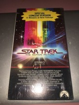 Star Trek The Motion Picture special longer version VHS Paramount 1991 #... - $28.13