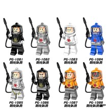 8pcs Fit Lego PG8081 Super Heroes Defensive Team Members Series Bricks S... - $19.99