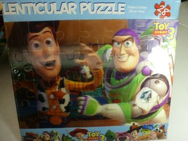 """""""TOY STORY 3"""" Disney NEW Sealed 28 Piece Lenticular Puzzle 6"""" x 9"""" Colle... - $12.66"""