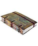 Special Binding Handmade Journal Hut Print Notebook Diary Christmas Gift... - $25.48