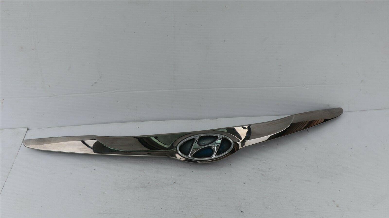11-15 Hyundai Sonata Hybrid Hood Garnish Upper Grille Chrome Molding 86356-4R000