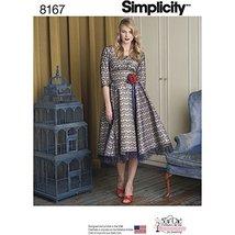 Simplicity 8167 Misses' Sew Chic Dress, P5 (12-14-16-18-20) - $13.72