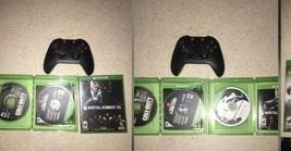 Microsoft Xbox One Wireless Controller W Black ops 4, Infinite warfare, and Mk11 - $108.90