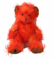 "Russ Berrie Moonlight Teddy Bear 7"" Plush Stuffed Animal Toy Orange Spid... - $35.39"
