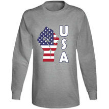 Fight Power Usa Long Sleeve T Shirt image 12