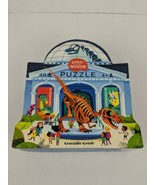 Crocodile Creek Puzzle Day at the Museum 48 Piece Dinosaurs Eco Friendly... - $16.82