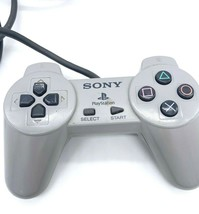 Sony PlayStation 1 PS1 Controller SCPH 1080 Gray - $17.81