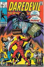 Daredevil Comic Book #71 Marvel Comics 1970 VERY FINE+ - $31.85