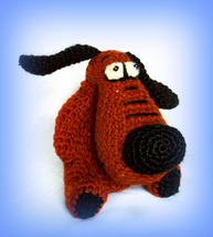 Cute crocheted Puppy for lovely girl.  - $30.00