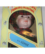"""The Heritage Mint 14"""" Hand Painted Porcelain Doll, Adam D-71, Toddler Co... - $18.22"""