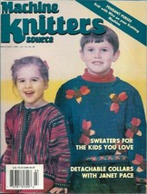 Machine Knitters Source Mar Apr 1998 Magazine Kids Sweaters & More - $5.99