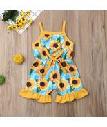 NWT Sunflower Girls Blue Ruffle Romper Sunsuit Jumpsuit 18M 2T 3T 4T 5T - $10.99