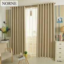 Solid Heavy Blackout Curtain 85% Shading Rate,Thermal Insulated Privacy ... - $24.83