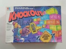 Vintage 1991 Milton Bradley Knockout Board Game Complete Working Hammer - $51.41
